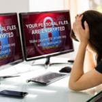 Donna in ufficio subisce un data breach tramite attacco informatico