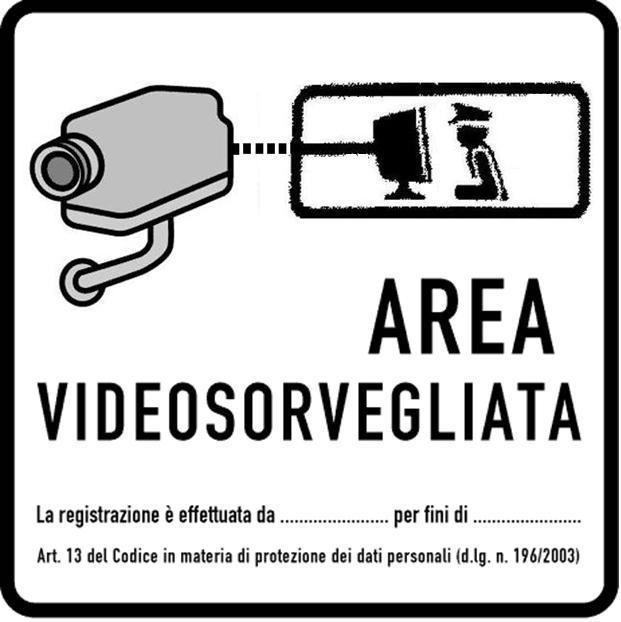 Cartello videosorveglianza - Allegato 2